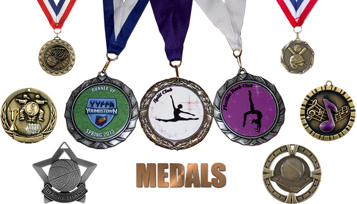 Cusomizable Medals Youngstown