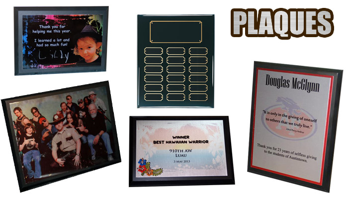 Sublimation Plaques for any Occasion